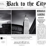 """Photo exhibition """"Back to the City"""""""
