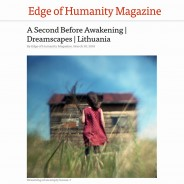 Featured in the Edge of Humanity Magazine